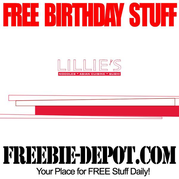 Free Birthday at Lillies