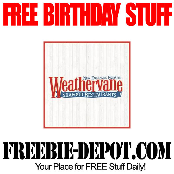 Free Birthday Deal at Weathervane