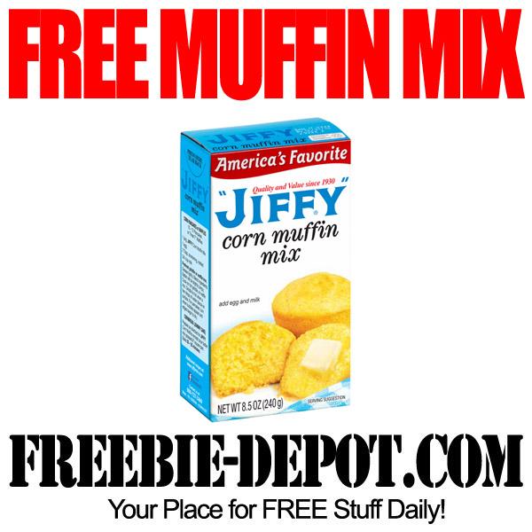 Free Corn Muffin Mix by Jiffy