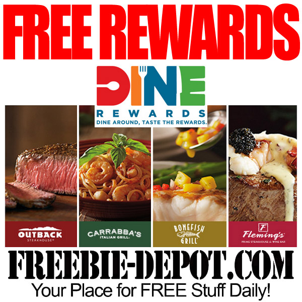 Free 5 Or 10 Reward At Bloomin Brands Restaurants Free Outback