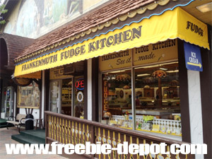 FREE Samples of Chocolate Fudge in Frankenmuth