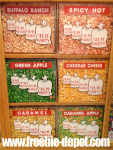 FREE Samples of Popcorn in Frankenmuth