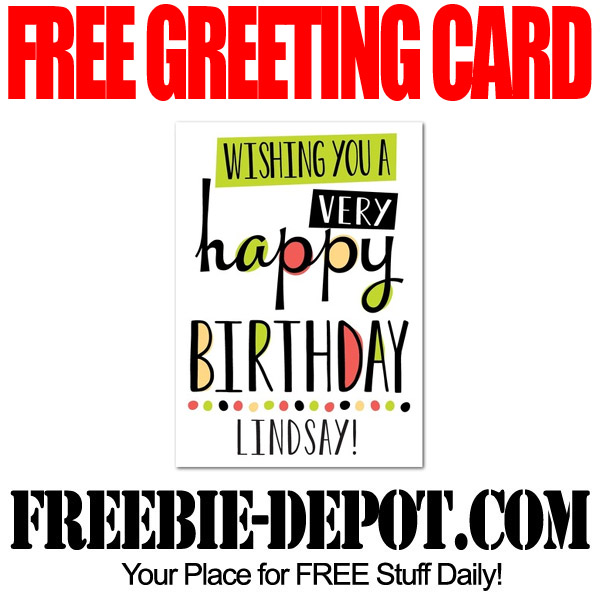 Free Greeting Card for a Friend