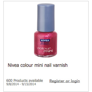 FREE Nail Polish Testing from Nivea