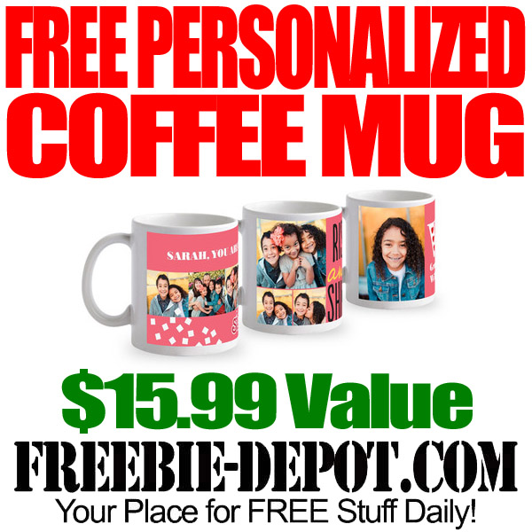 Free Personalized Coffee Mug