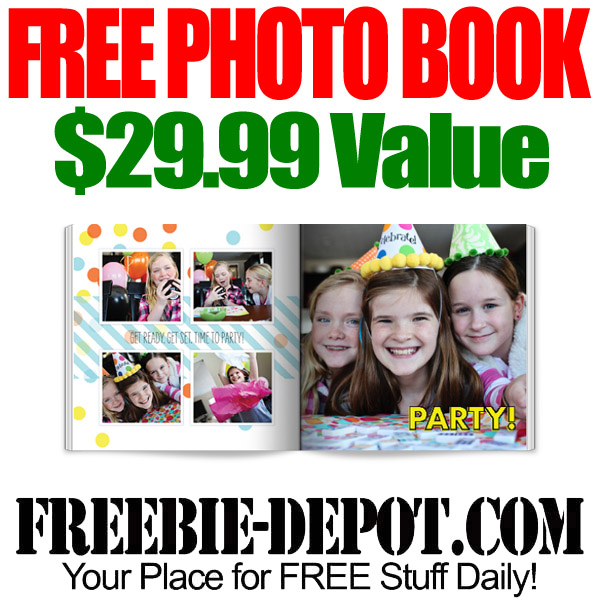 Free Hardcover Photo Book from Shutterfly
