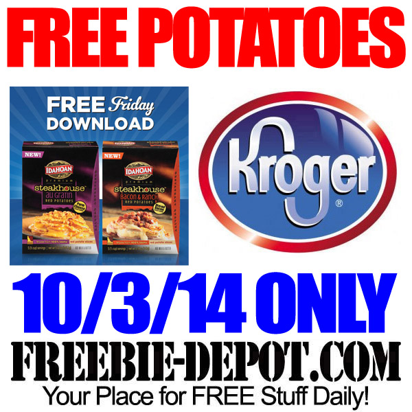 Free Potatoes at Kroger