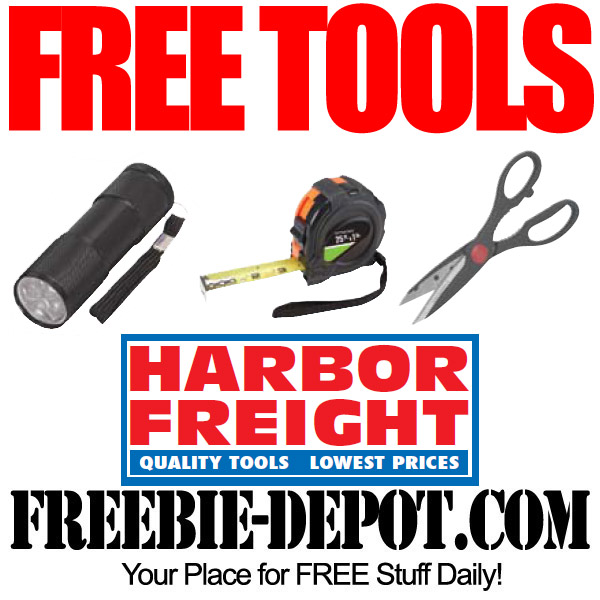 Free Measuring Tape at Harbor Freight
