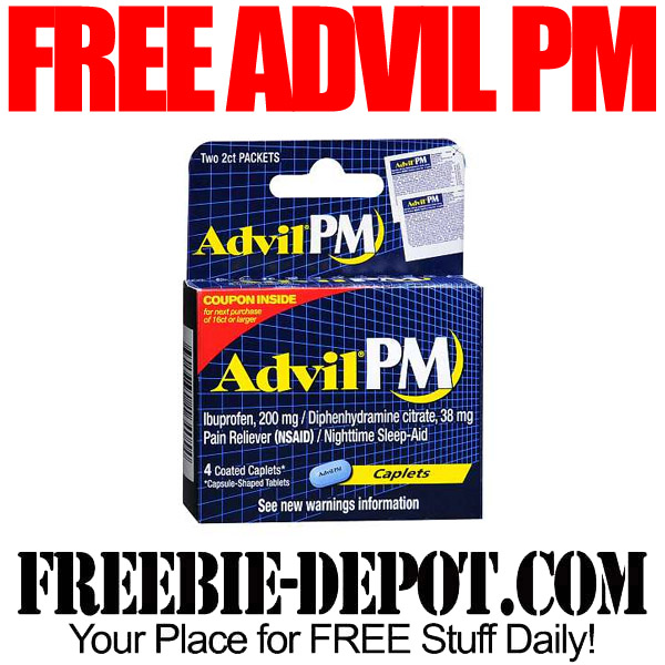 Free Advil PM at Walgreens
