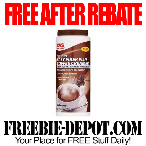 Free After Rebate CVS Fiber