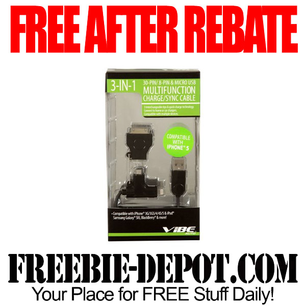Free After Rebate Cable Kit
