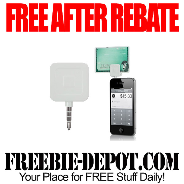 Free After Rebate Credit Card Reader for Mobile Phones