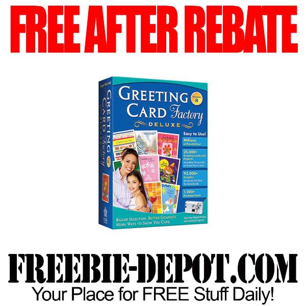 Free After Rebate Greeting Card Factory