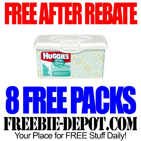 Free After Rebate Huggies Wipes