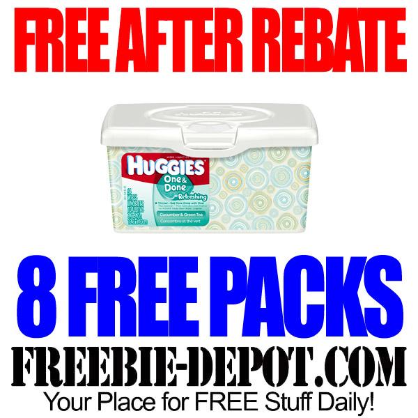 Free After Rebate Huggies Wipes