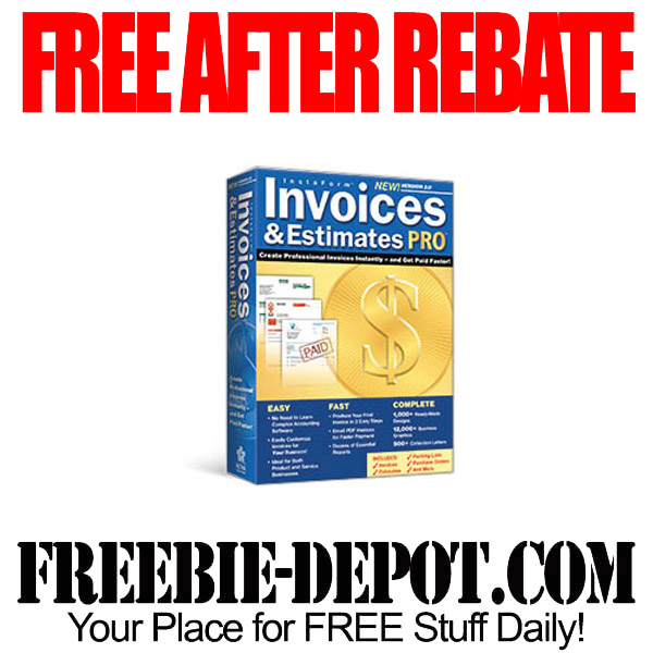 Free After Rebate Invoice Software