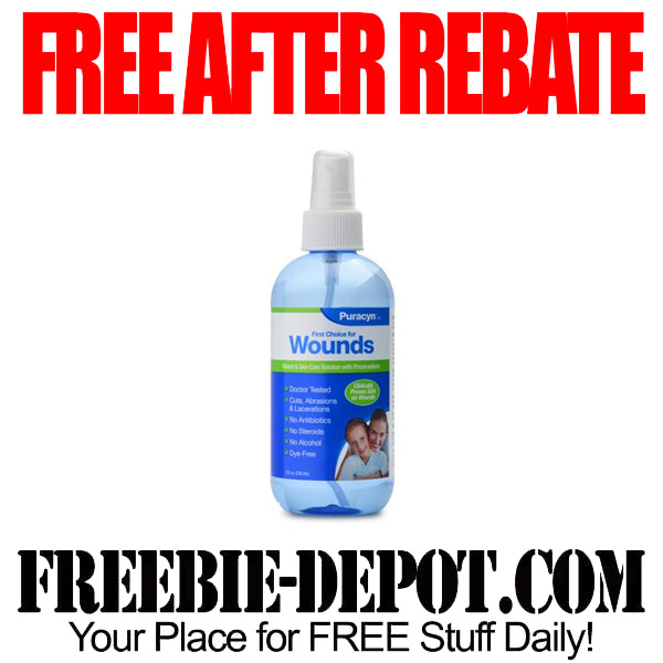 Free After Rebate Wound Care
