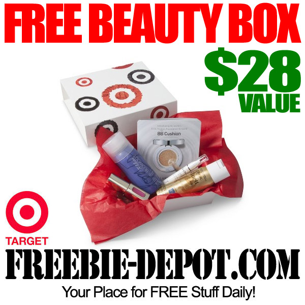 Free Beauty Box from Target