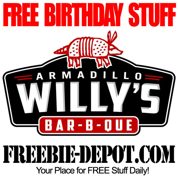 Free Birthday BBQ at Armadillo Willys