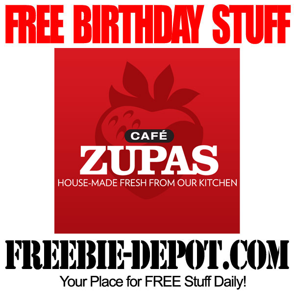 Free Birthday Stuff in Arizona at Cafe Zupas