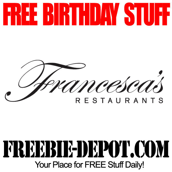 Free Birthday Dessert at Francescas
