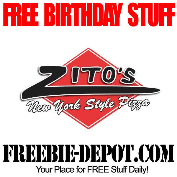 Free Birthday Zitos Pizza