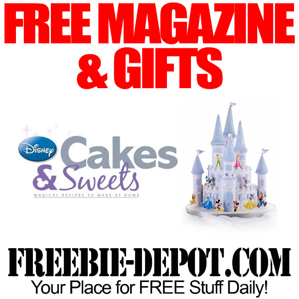 Free Disney Baking Magazine