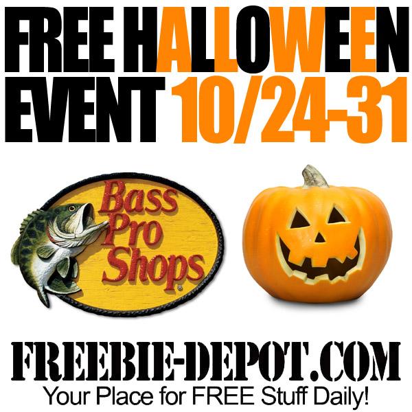 Free Halloween Bass Pro