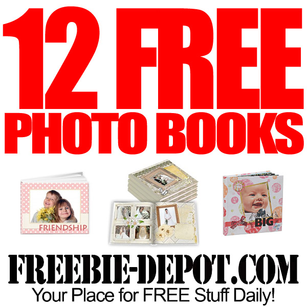 FREE Custom Photo Books