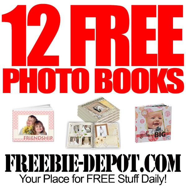 FREE Custom Photo Books