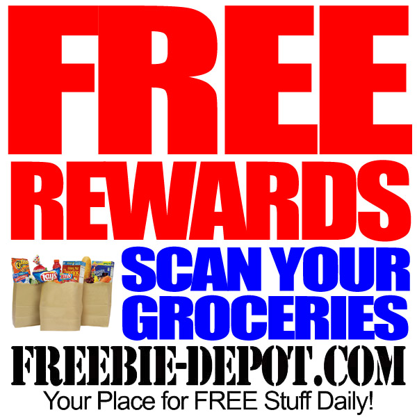 Free Rewards to Scan Groceries Weekly