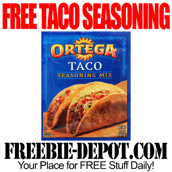 Free Taco Seasoning Packet