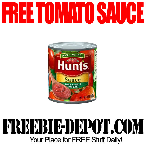 Free 8 Ounce Tomato Sauce