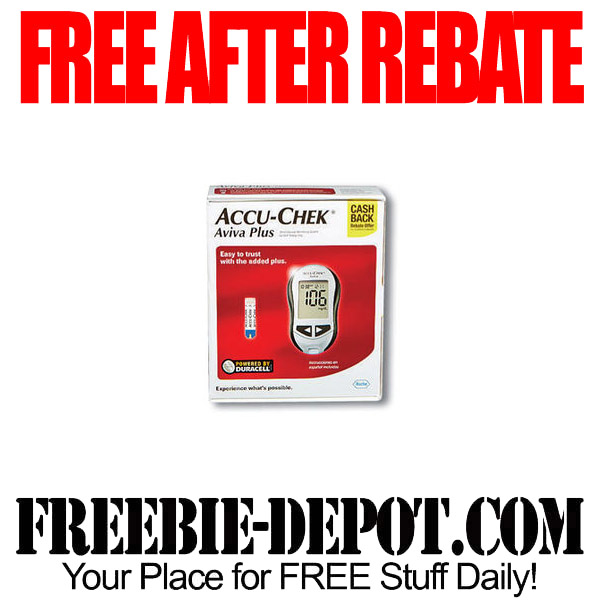 Free After Rebate Blood Glucose Walgreens