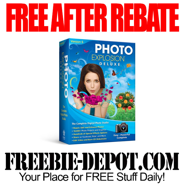 Free After Rebate Photo Explosion Deluxe