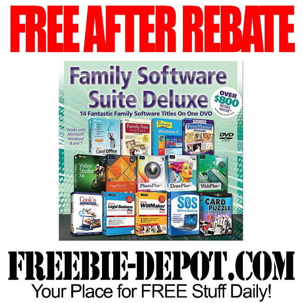 Free After Rebate Software Family