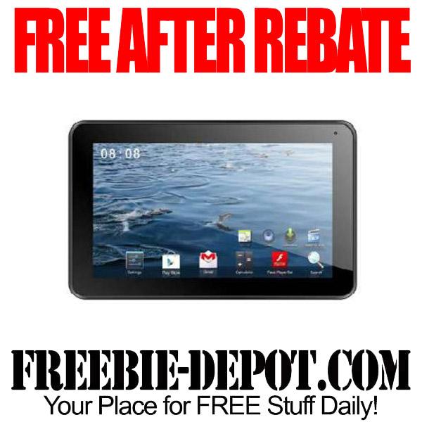 Free After Rebate Tablet