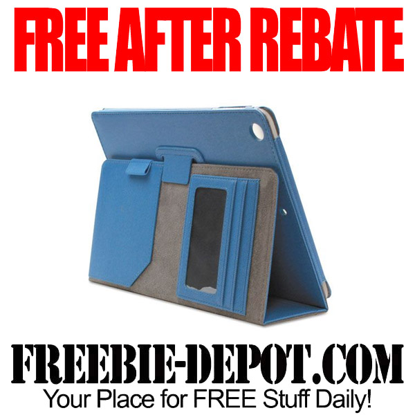 Free After Rebate iPad Case Blue