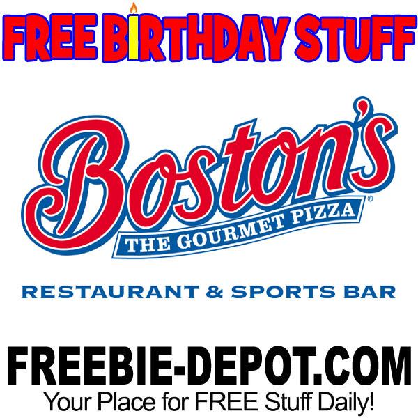 BIRTHDAY FREEBIE – Boston's Restaurant & Sports Bar
