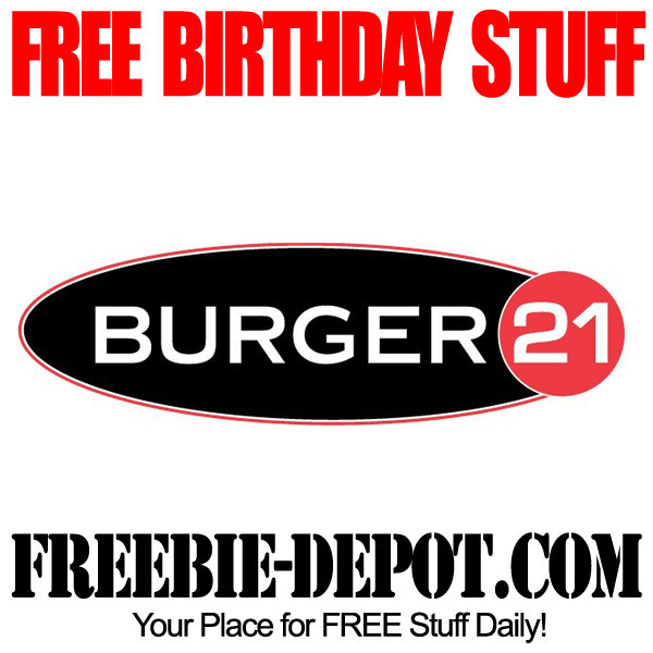 Free Birthday Shake at Burger 21