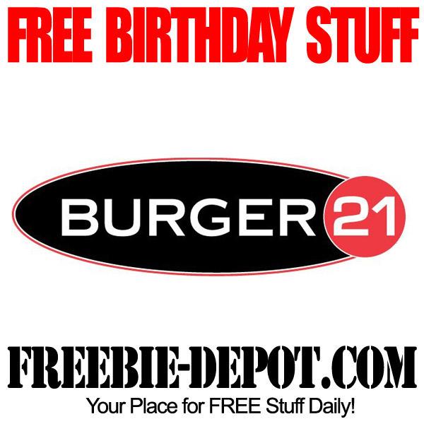 Free Birthday Shake at Burger 21