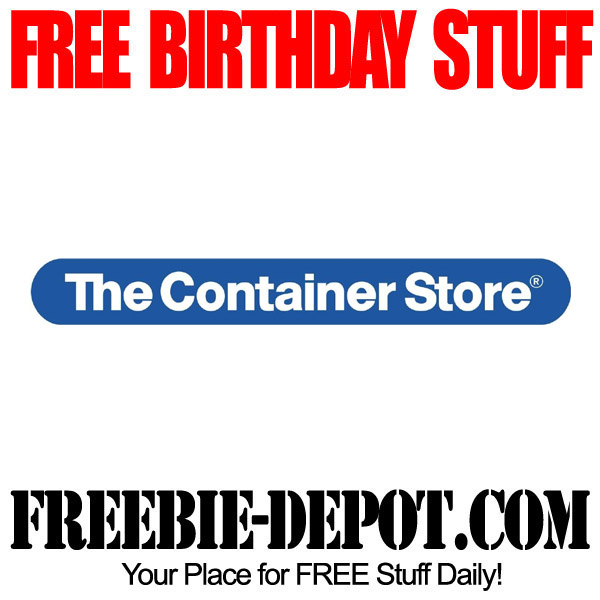 Free-Birthday-Container-Store