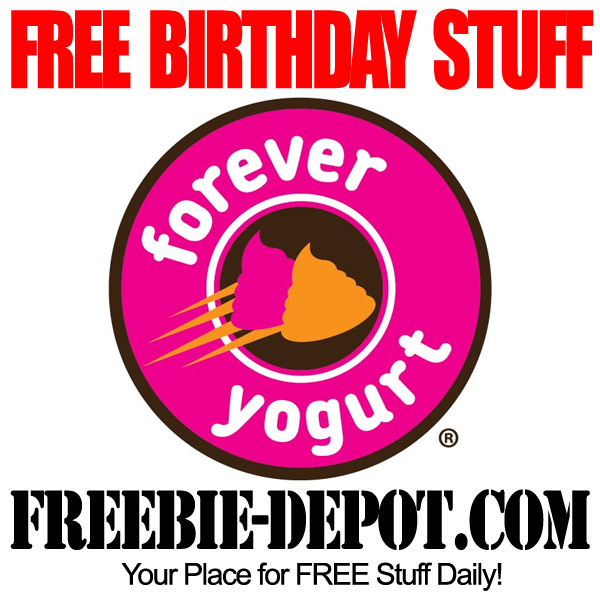 Free Birthday Forever Yogurt