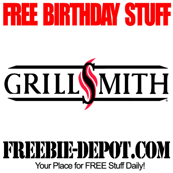 Free Birthday GrillSmith