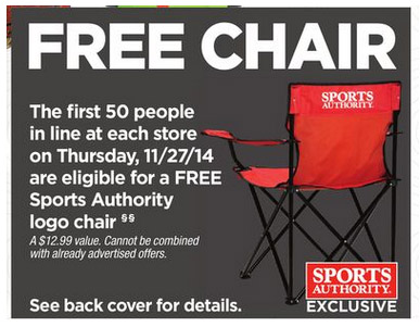 Free Black Friday Chair