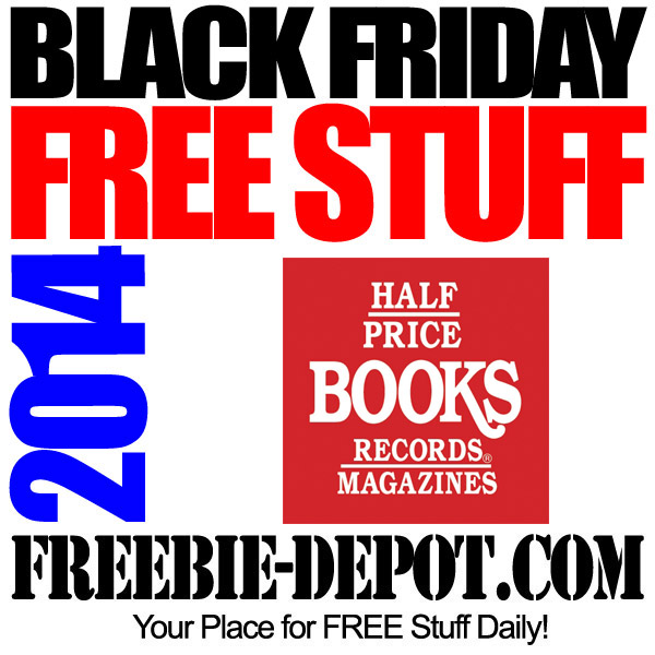 Free Black Friday Half Price Books 2014