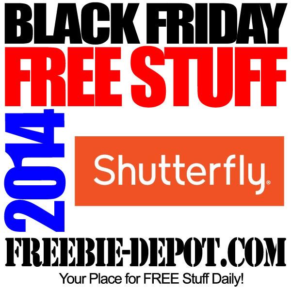 Free Black Friday Shutterfly 2014