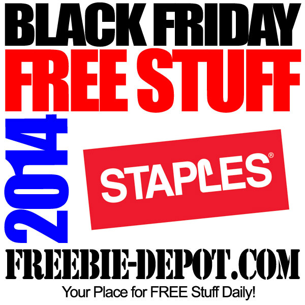 Free Black Friday Staples 2014