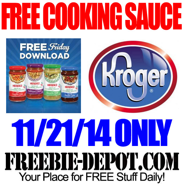 Free Cooking Sauce Kroger