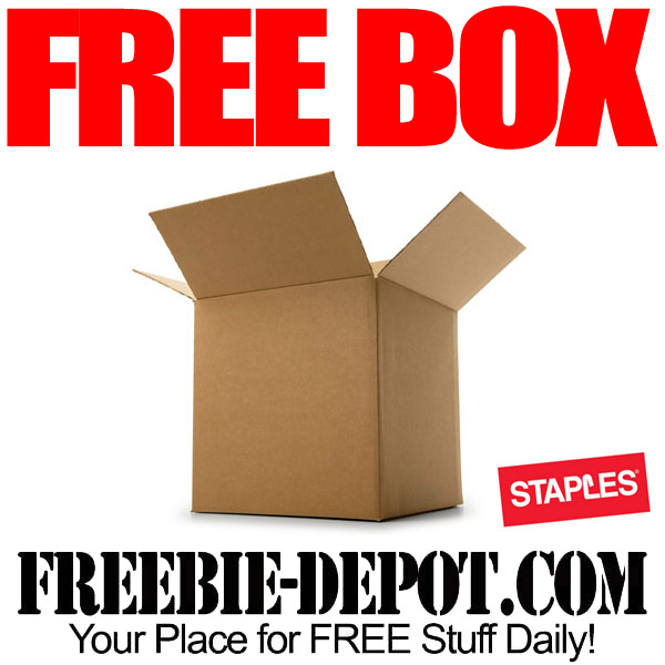 Free Coupon for a Shipping Box